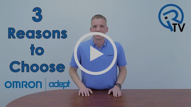 3 Reasons to Choose Omron Adept Robots