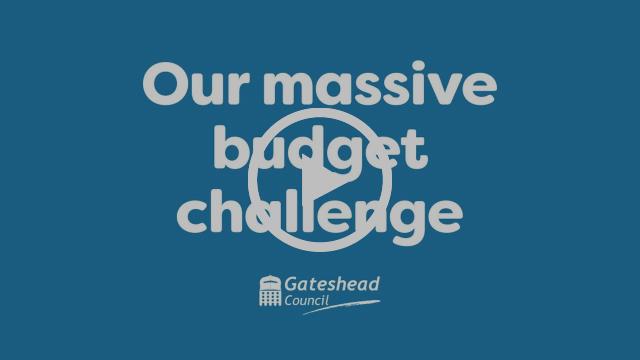 Our massive budget challenge