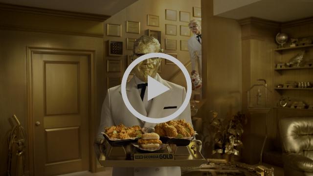 KFC | Georgia Gold Big Game Commercial | Colonel vs. Colonel