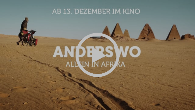 TRAILER - Anderswo. Allein in Afrika