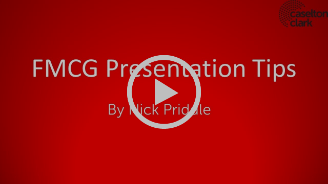 FMCG Presentation Advice