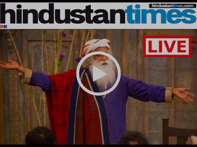 Sadhguru Hindustan Times Annual Meet 2016.