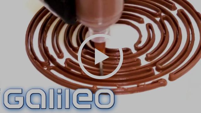 Essen aus dem 3D-Drucker - das Kochen der Zukunft gibt es schon heute   Galileo   ProSieben