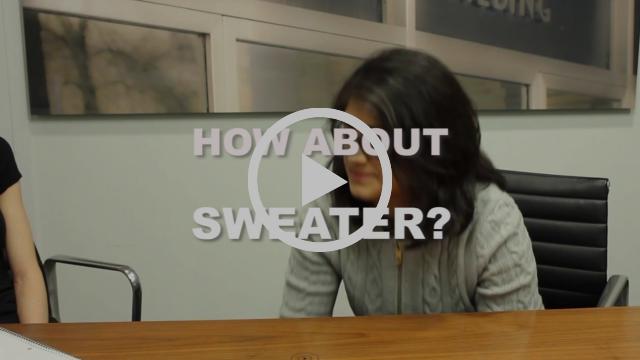Green Hacks: Wear a Sweater!