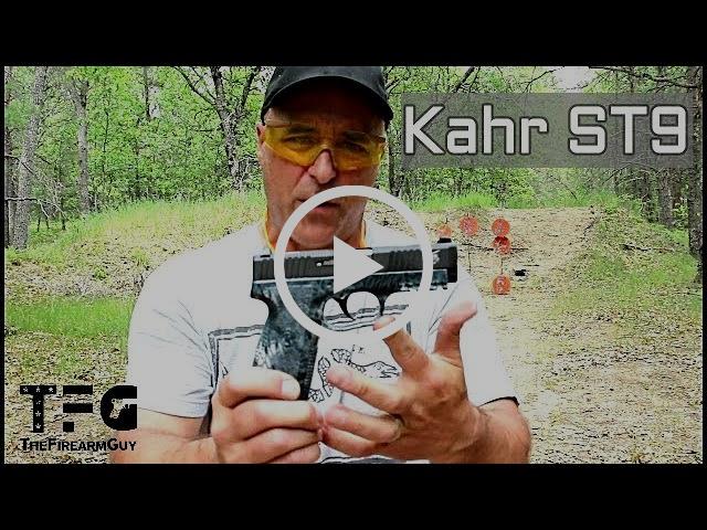 Kahr ST9 (Tig Series) Range Review - TheFireArmGuy