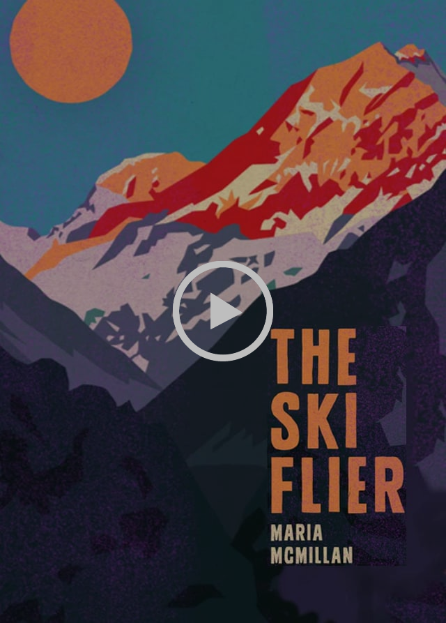 Invitation | The Ski Flier by Maria McMillan Book Launch