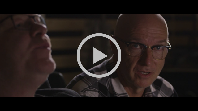 Midge Ure and Ty Unwin recording 'Orchestrated' - full EPK