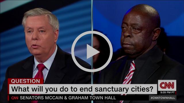 SENATORS MCCAIN & GRAHAM TOWN HALL FULL (5) | CNN TOWN HALL