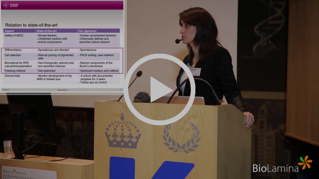 BioLamina Symposium 2014 Biorelevant Approaches to Regenerative Medicine & Cell-Based Assays Part IV