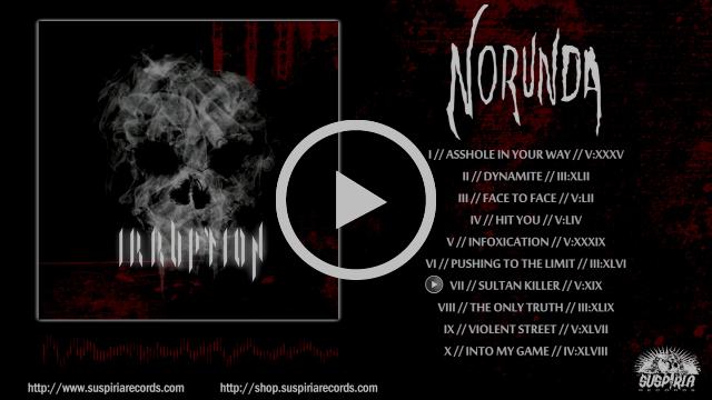 Norunda- Irruption [Full Album Video Preview 2017]