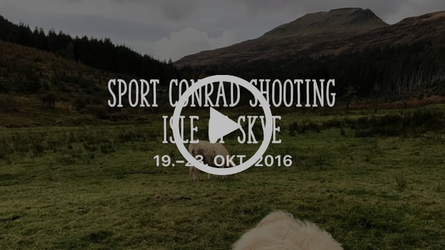 SPORT CONRAD SHOOTING ISLE OF SKYE, SCOTLAND, 19.-23.10.2016
