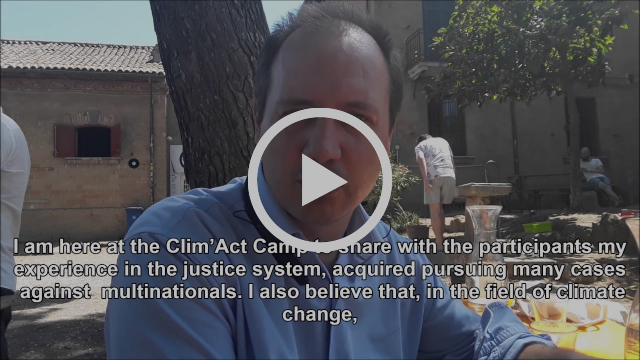 Luca Saltalamacchia - Voices from Clim'Act Camp