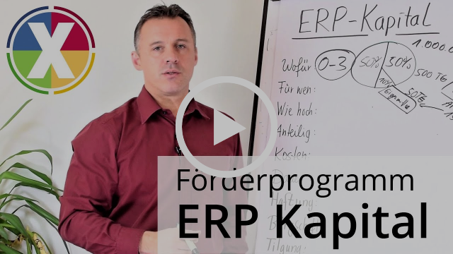 Förderprogramm ERP Kapital - Alle Infos