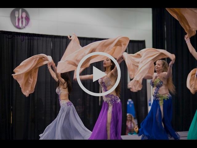 Bellydance Performance   Choreographer Stefanya   L.A. Bellydance Academy Performance