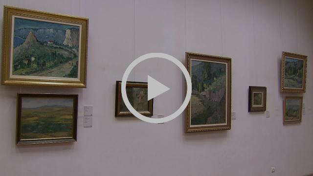 Ազգային պատկերասրահում բացվեց բուլղարահայ նկարիչ Պետիկ Պետրոսյանի ցուցահանդեսը