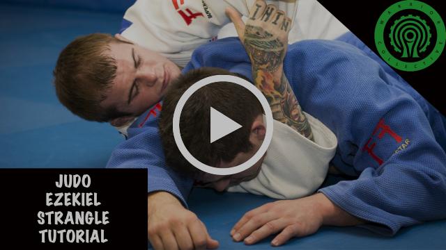 Judo Ezekiel Strangle Tutorial