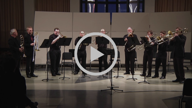 Trombone Ensemble - TRADITIONAL/CLARK My Soul is Anchored in the Lord