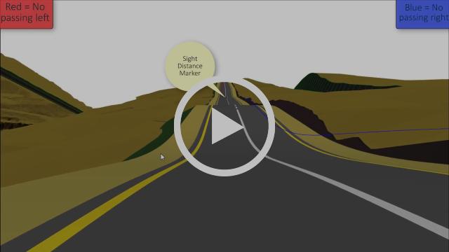 CIVIL DESIGNER Software: Sight Distance Checking