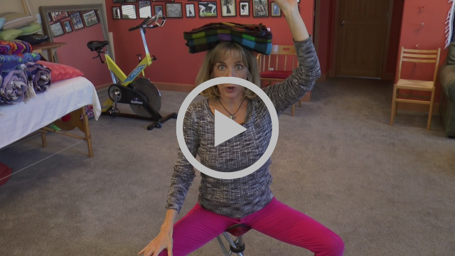 Lisa Ann McCall of McCall Method decreases neck strain by using your head