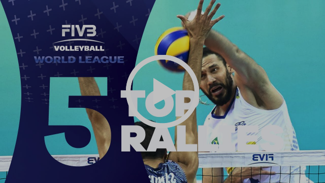 FIVB - World League Finals: Top 5 Rallies