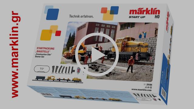 Ξεκίνημα με ένα Starter Set τραίνο Märklin - 29184