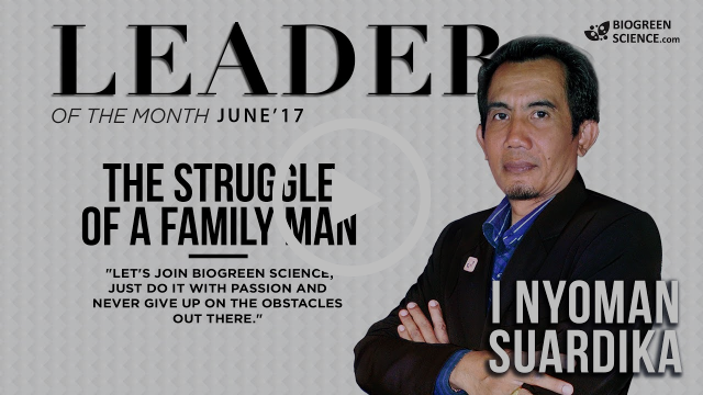 Leader of the Month -- The Struggle of A Family Man. (June 2017 Edition)