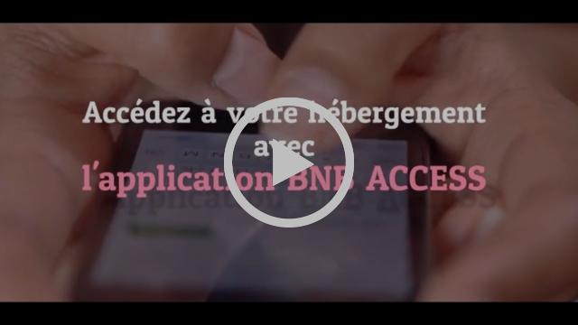 Comment utiliser l'application BNB ACCESS pour accéder à votre hébergement