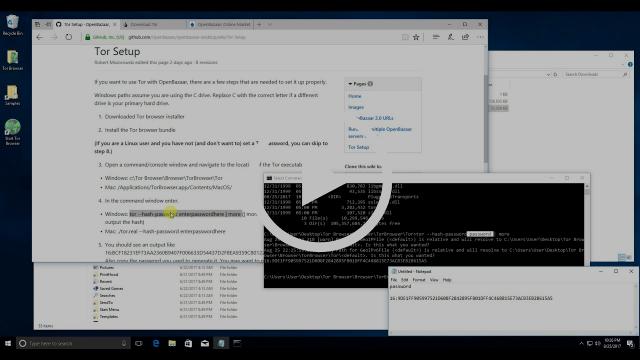 How to Run OpenBazaar with Tor on Windows