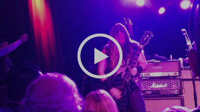 Zakk Sabbath  Into The Void Live 12 20 14