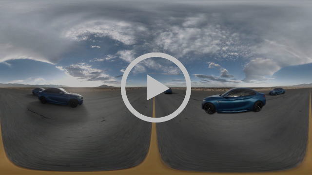 The BMW M2 – Eyes on Gigi Hadid 360° Video injected