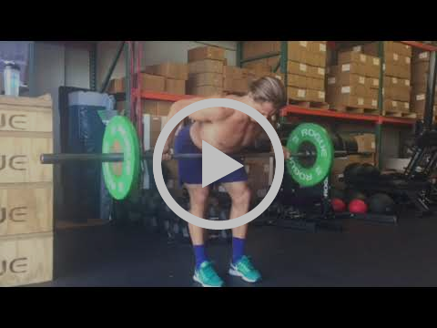 Wide Supinated Grip Bent Over Row