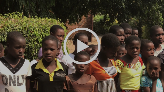 Video clip: Burundian children singing their thanks to BFI