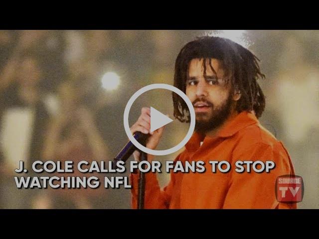 J. Cole Wants to Boycott NFL, Stevie Wonder Kneels In Solidarity | Source News Flash