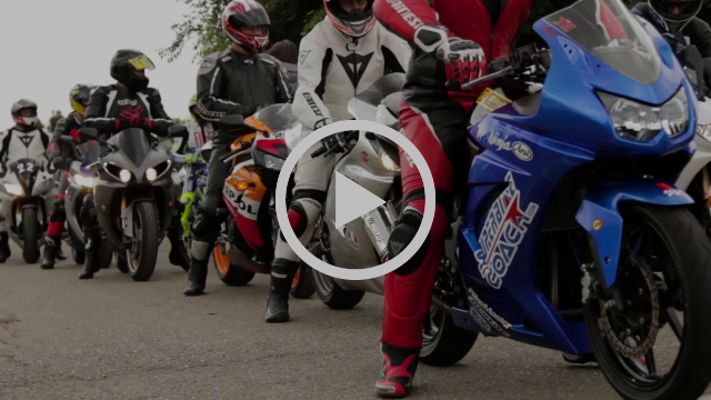 This is the Superbike Coach Knee Down class