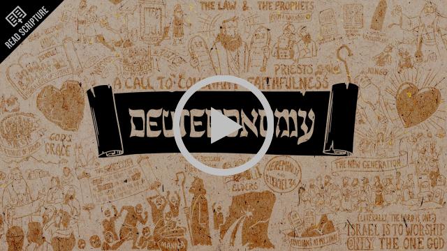 Read Scripture: Deuteronomy