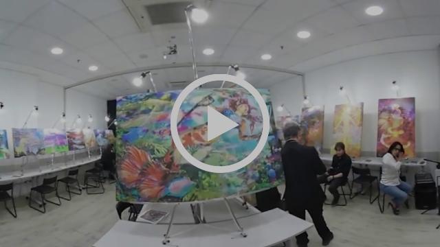 Em 360º - Vernissage da SEREIArte - A Exposição - Obras de Henrique Vieira Filho