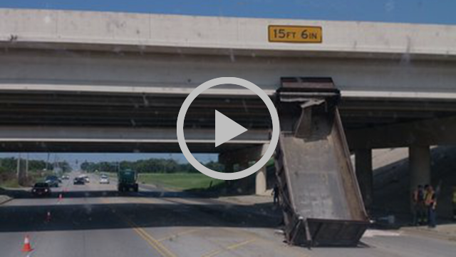 7 Trucks Hitting Bridges And A Sign (Not The 11Foot8 Bridge)