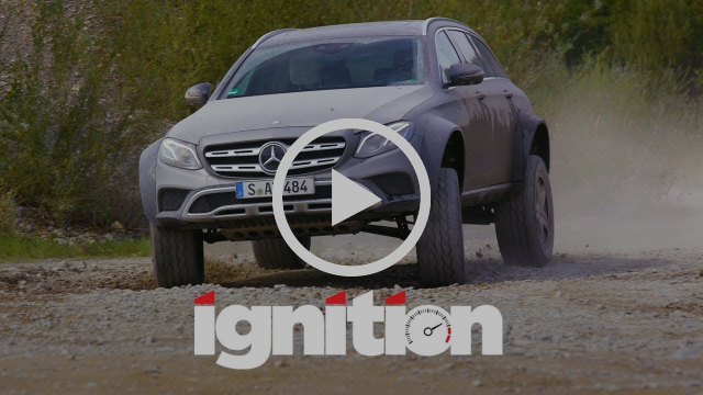 Mercedes-Benz E400 All-Terrain 4x4 Squared: Greatest Station Wagon in the World? - Ignition Ep. 184