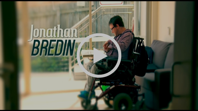 Jono Bredin how technology can improve the lifes of peoples with a disability