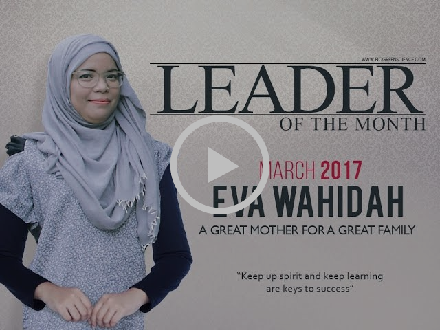Leader of the Month -- A Great Mother for A Great Family (March 2017 edition)