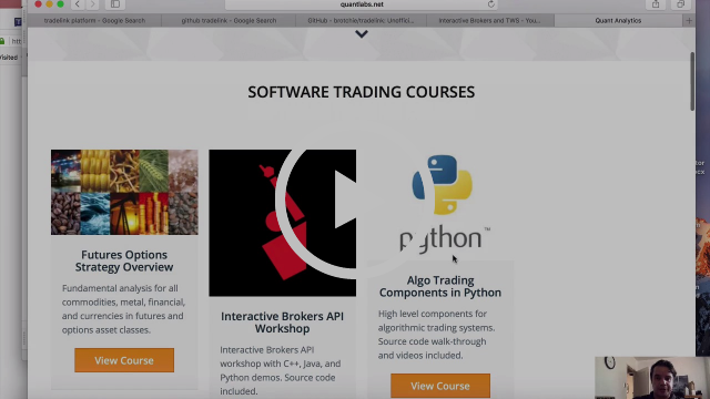 Python do it yourself coding vs 3rd party trading platforms like Multicharts