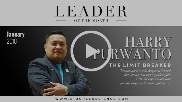 """Harry Purwanto -- """"The Limit Breaker"""" 