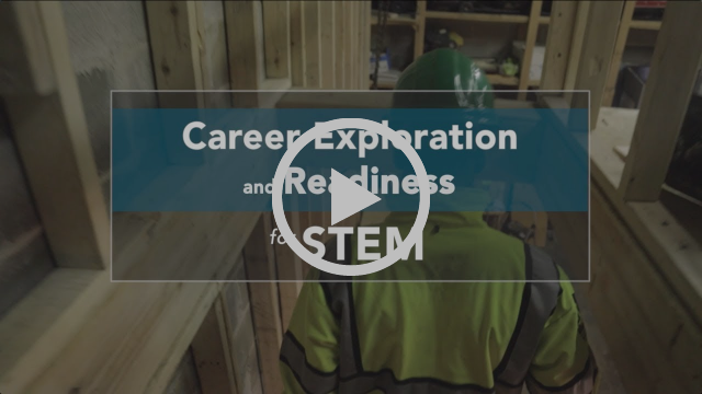 Video screenshot: Career Exploration and Readiness for STEM