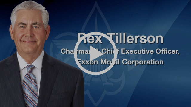 Rex Tillerson keynote address