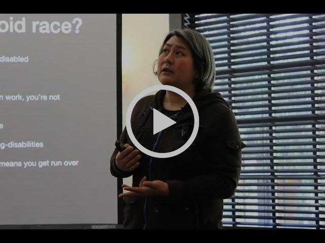 Karen Nakamura speaks on Disability Studies and Race