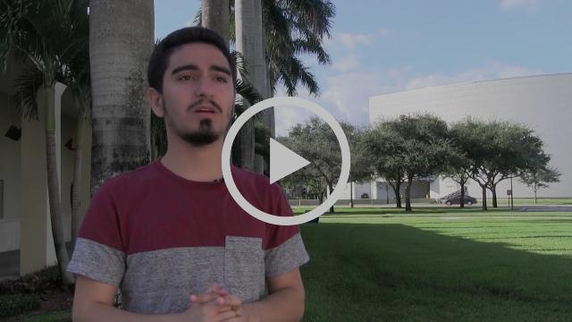 Jorge Diaz - Scholarship recipient
