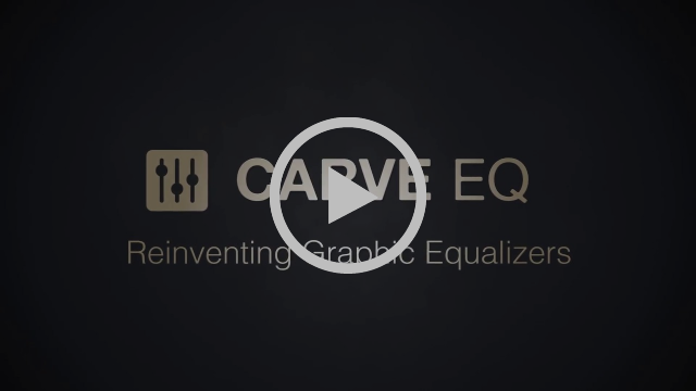Carve EQ by Kilohearts - Reinventing Graphic Equalizers