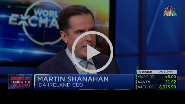 WATCH VIDEO: Martin Shanahan on Worldwide Exchange CNBC
