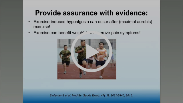 Lunch and Learn Physical Activity for Children with Joint Pain and Obesity