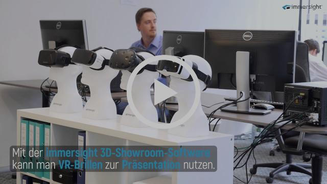 Die immersight GmbH präsentiert sich.